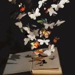 Paper art by British artist Su Blackwell
