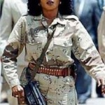 The female elite bodyguards of Libyan leader Muammar Gaddafi