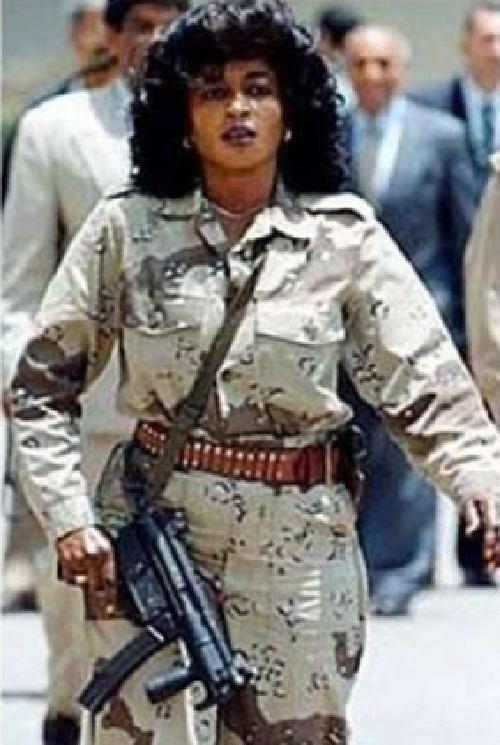 Gaddafi bodyguards