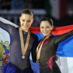 Russian figure skater Liza Tuktamysheva