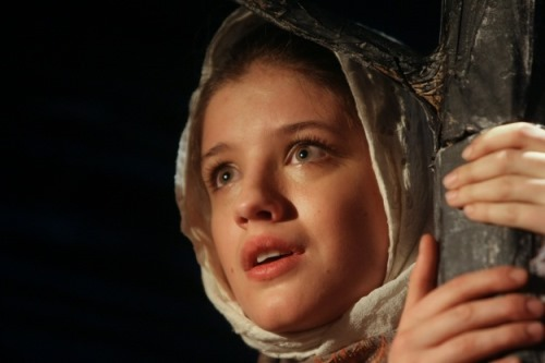 Russian actress Anna Chipovskaya