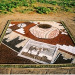 Art by the Half-Acre. Neiman Marcus commissioned Stan to create a half-acre earthwork as part of its 2003 Christmas Book