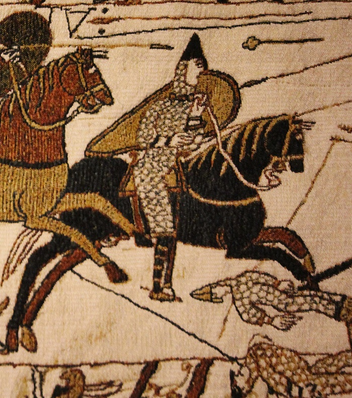 Closeup, Bayeux Tapestry
