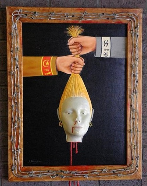 Dr.Death-Kevorkian's macabre paintings at auction
