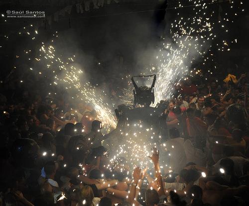 Fiesta del Diablo 2012. Isla de La Palma, Canarias. Spanish photographer Saul Santos Diaz