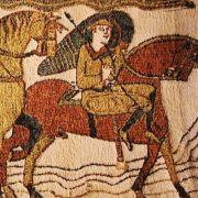 Hand embroidered Bayeux Tapestry
