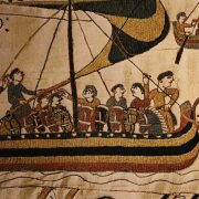Historical Bayeux Tapestry, detail