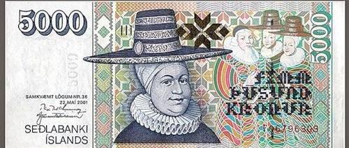 The art of money. Iceland (Kronurs)