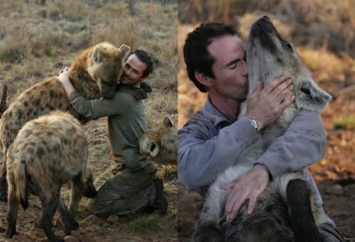 Zoologist and animal behaviorist Kevin Richardson
