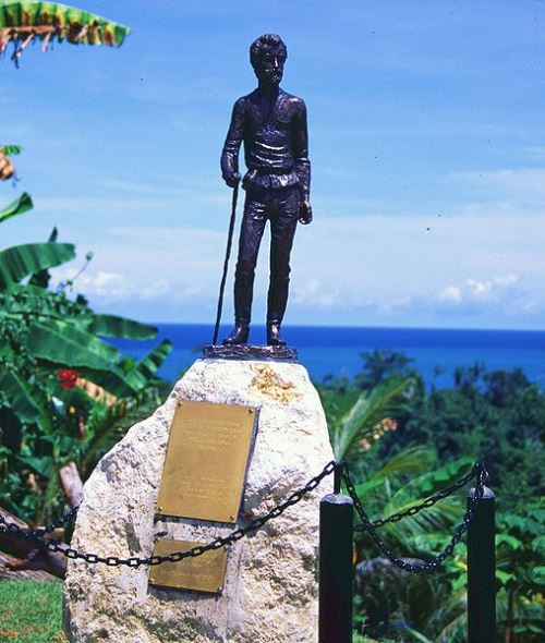 Maclay. Monument in New Guinea