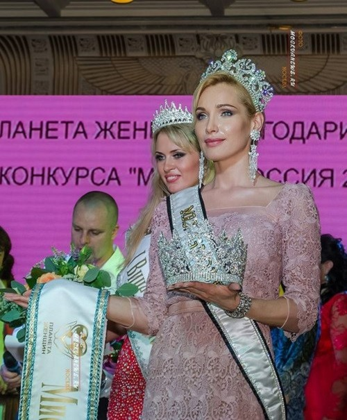 Mrs. Globe Alisa Krylova