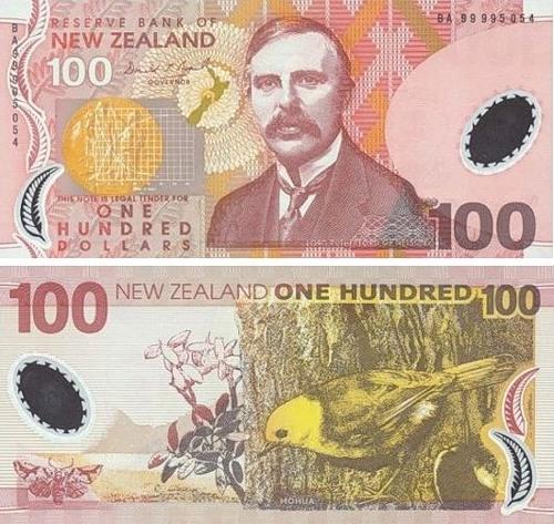 The art of money. New Zealand (New Zealand Dollars)