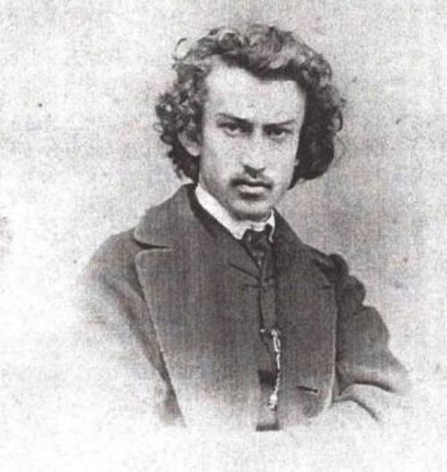 Nikolai Miklouho in his student years (up to 1866)