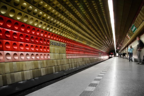 Metro stations hidden architecture