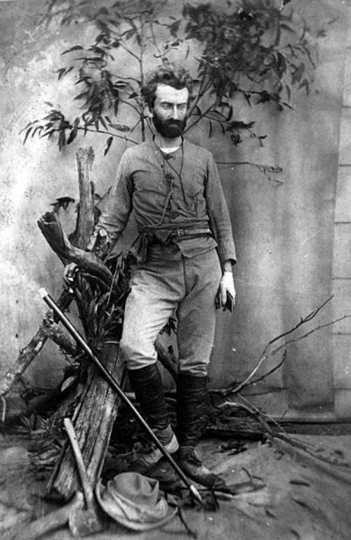 Russian traveler Nikolai Miklouho-Maclay in Queensland in 1880