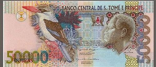 The art of money. Sao Tome & Principe (Dobras)