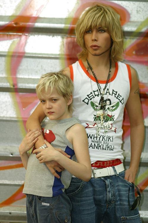Sergey Zverev with his son Sergey