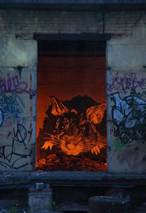 Street art by Paul P183