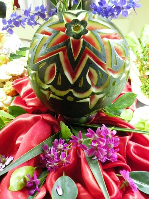 Vegetable carving competition