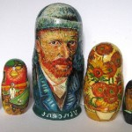 Traditional Russian nesting doll Matryoshka