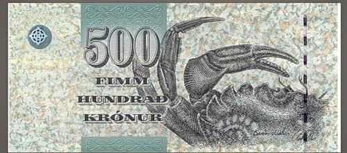 The art of money. Faroe islands