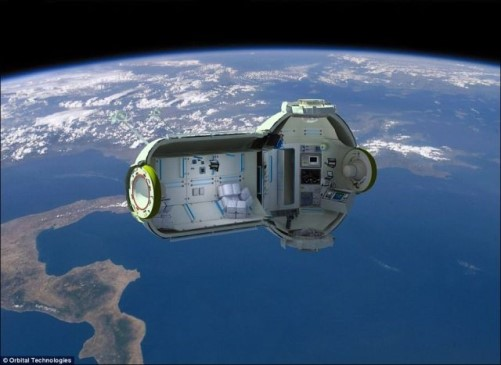 Russian Space Hotel With Beautiful Views
