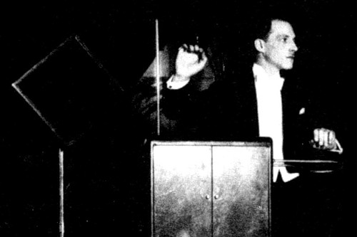 the inventor Leon Theremin