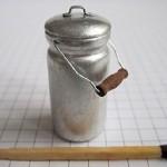 Milk churn. Miniature created by Russian craftsman Dmitry Okhotsky