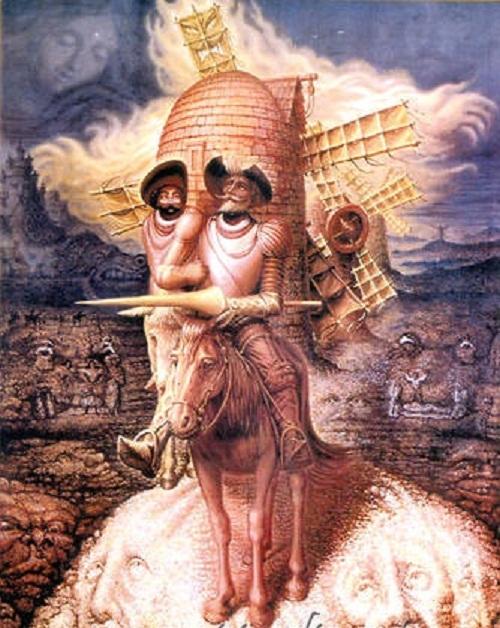 Illusions by Octavio Ocampo