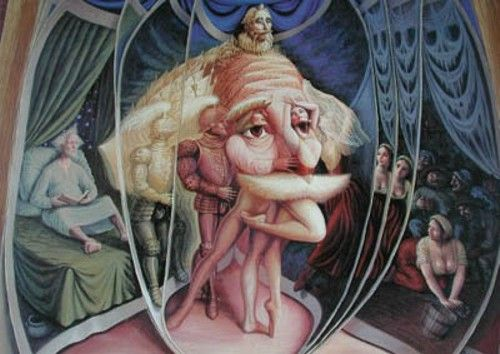 Illusions by Mexican artist Octavio Ocampo