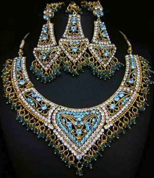 Indian woman jewelry