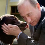 They understand each other quite well. Animal lover Putin