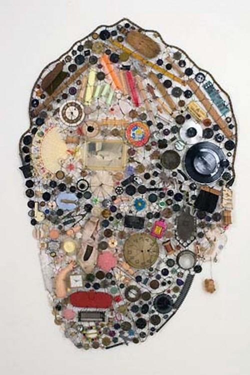 Artwork of buttons by Lisa Kokin