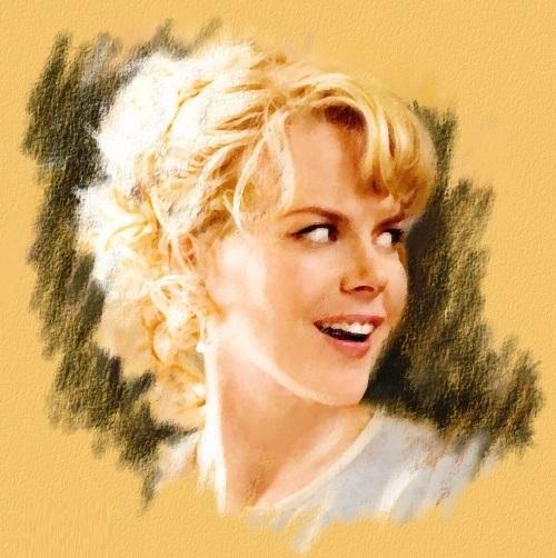 Australian American actress Nicole Kidman