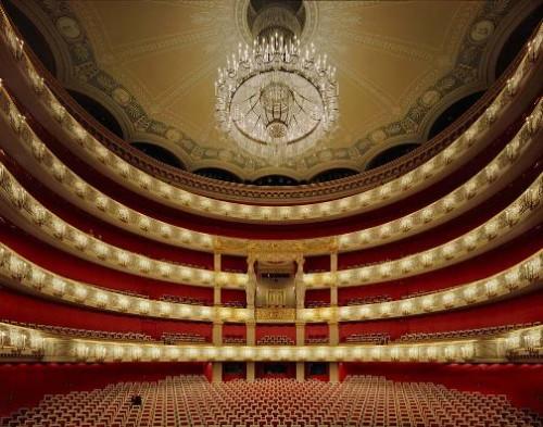 Bavarian State Opera, Munich, Germany. Photo by David Leventi