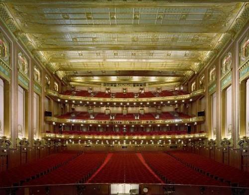 Civic Oper House, Chicago, Illinois. Photo by David Leventi