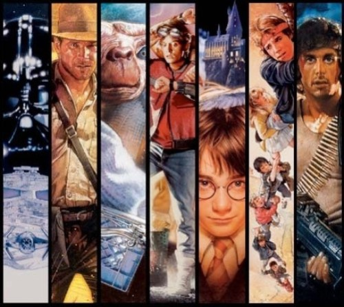 Collage of movie posters