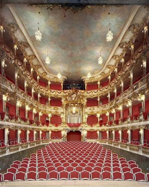 Cuvillies Theatre, Munich, Germany. Photo by David Leventi