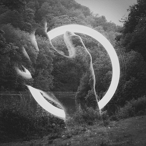 double exposure photo by British photographer Dan Mountford