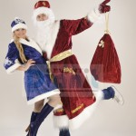 Happy together – Ded Moroz and Snegurochka
