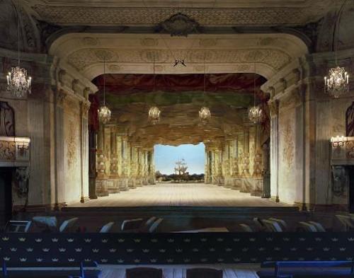Drottningholm Palace Theatre, Stockholm, Sweden. Photo by David Leventi