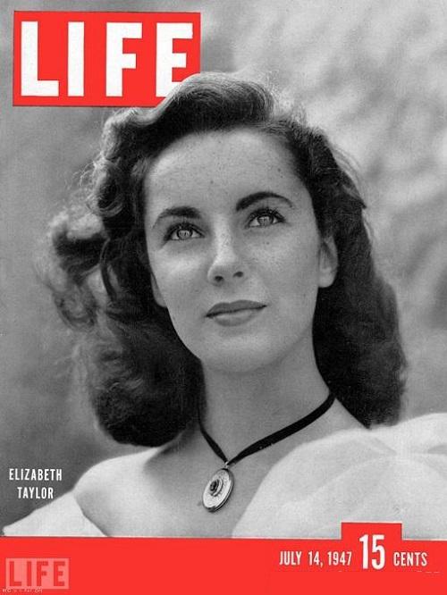 Elizabeth Taylor, July 14, 1947