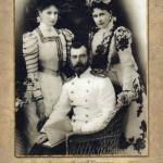 Emperor Nicholas II, Grand Duchess Elizabeth Feodorovna, sister of Alexandra Feodorovna (Alix of Hesse)