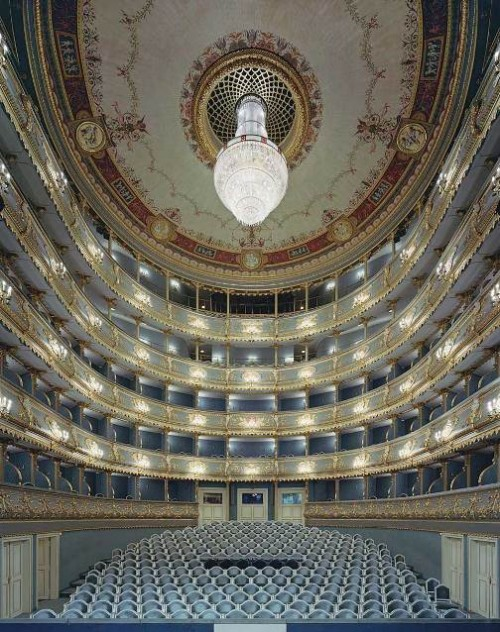 Estates Theatre, Prague, Czech Republic. Photo by David Leventi