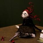 Weird doll. Exhibition of Art installations by Alik Dovbysh