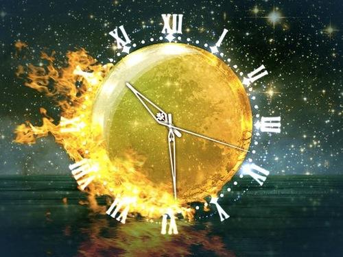 Firewater clock