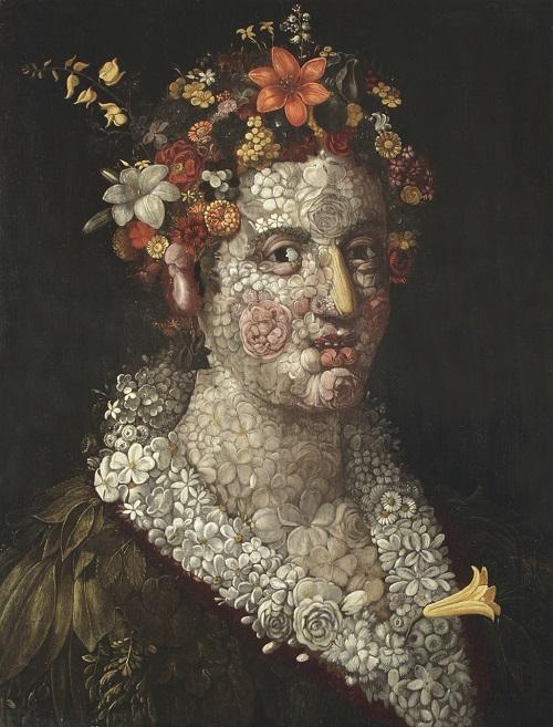 Flora, ca. 1591. Oil on wood