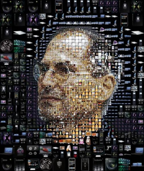 Fortune the trouble with Steve Jobs. Artwork by Greek designer Charis Tsevis
