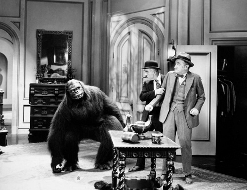 Fred Kelsey and Charles Murray in The Gorilla 1927