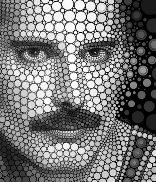 Freddie Mercury. Digital Art by Ben Heine